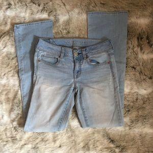 Light wash Skinny Hollister Jeans